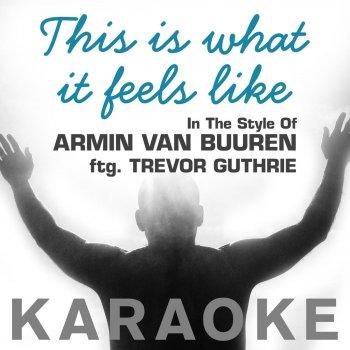 Armin Van Buuren This Is What It Feels Like Album Cover Testi Karaoke i...
