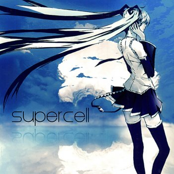 Line by supercell & Hatsune Miku - cover art