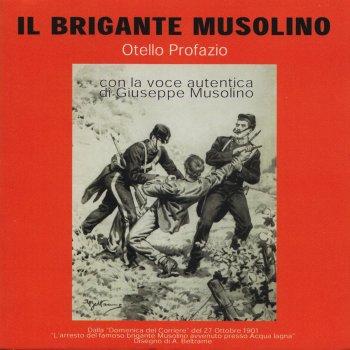 Testi Il brigante Musolino (Con la voce autentica di Giuseppe Musolino)
