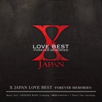 Testi X JAPAN LOVE BEST -FOREVER MEMORIES-