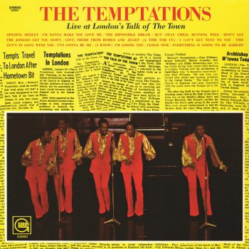 Testi The Temptations Live At London's Talk of the Town
