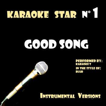 Testi Good Song (in the style of Blur) [Karaoke Versions]