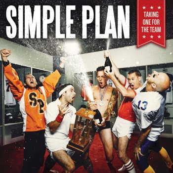 taking one for the team cover art - Simple Plan Christmas Song