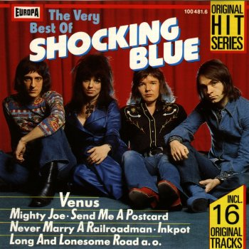 The Very Best Of Shocking Blue - cover art