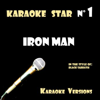 Testi Iron Man (in the style of Black Sabbath) Karaoke Versions
