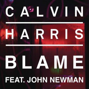Blame by Calvin Harris feat. John Newman - cover art