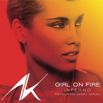 Girl on Fire (Inferno version) by Alicia Keys feat. Nicki Minaj - cover art