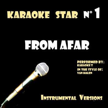 Testi From Afar (in the style of Van Halen) [Karaoké Versions]
