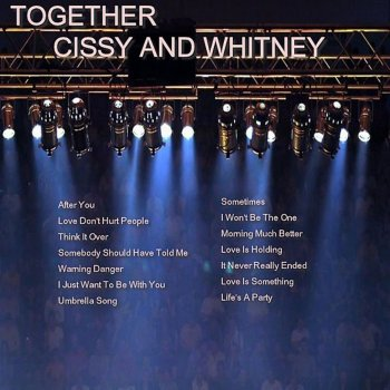 Testi Together Cissy and Whitney Houston