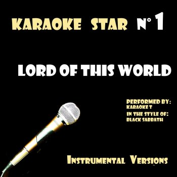 Testi Lord of this World (in the style of Black Sabbath) [Karaoke Versions]