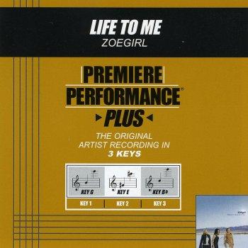 Testi Premiere Performance Plus: Life to Me