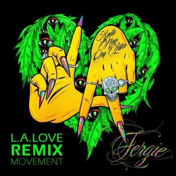 Testi L.A.LOVE (la la) [Remix Movement]