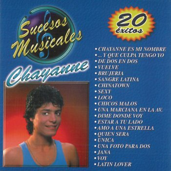 Testi Chayanne - Sucesos Musicales