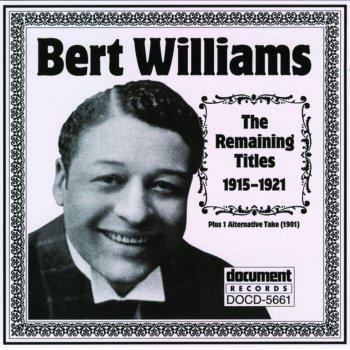 Testi Bert Williams 1915-1921