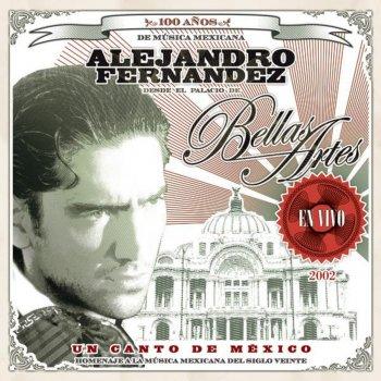 Testi Un Canto de México: Alejandro Fernández en Vivo desde Bellas Artes