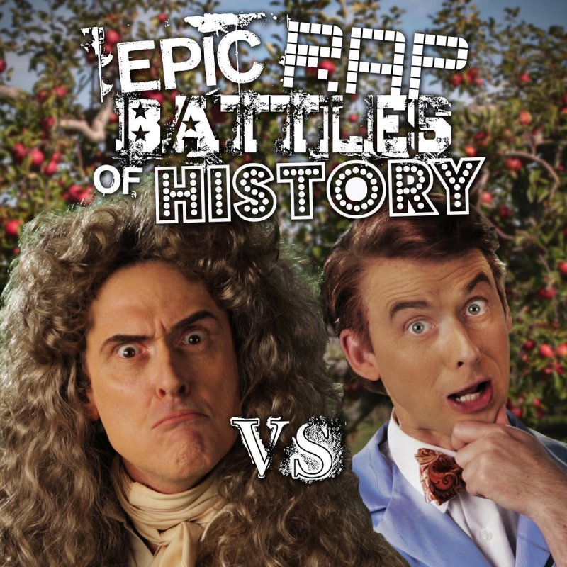 nicepeter & EpicLLOYD - Sir Isaac Newton vs Bill Nye Lyrics
