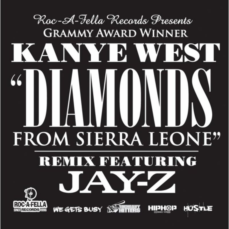 diamonds are forever from sierra leone Stream diamonds from sierra leone (remix - album version (explicit)) [feat jay-z] by kanye west from desktop or your mobile device.