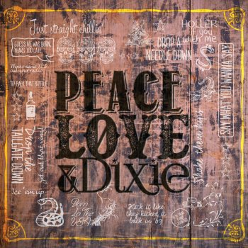 Testi Peace Love & Dixie