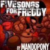 Five Songs for Freddy MandoPony - cover art