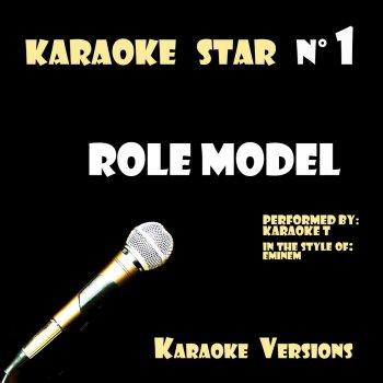 Testi Role Model (In the Style of Eminem) [Karaoke Versions]