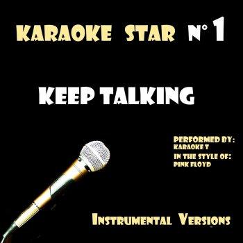 Testi Keep Talking (in the style of Pink Floyd) [Karaoké Versions]