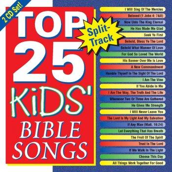 Top 25 - Kids' Bible Songs by Kids' Praise! Company album lyrics