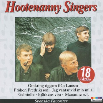 Svenska Favoriter - Hootenanny Singers - cover art