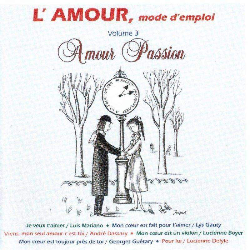 Letra De Viens Mon Seul Amour Cest Toi De André Dassary