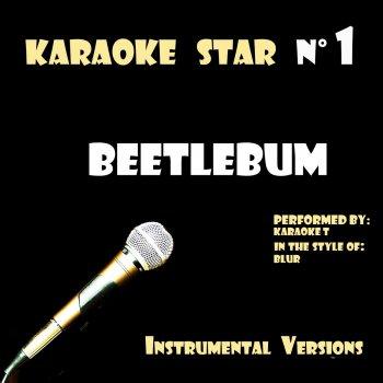 Testi Beetlebum (in the style of Blur) [Karaoke Versions]
