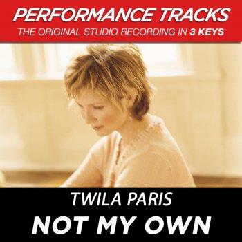 Testi Not My Own (Performance Tracks)
