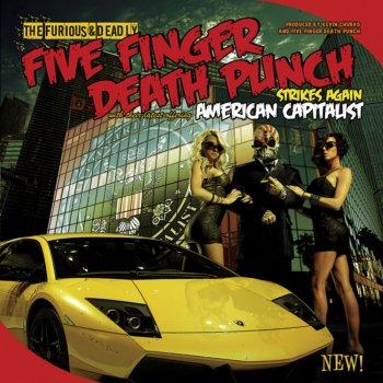 Under and Over It by Five Finger Death Punch - cover art