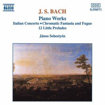 Testi Bach, J.S.: Italian Concerto - Chromatic Fantasia and Fugue - 12 Little Preludes