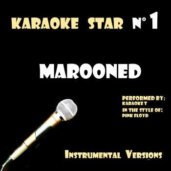 Testi Marooned (in the style of Pink Floyd) [Karaoké Versions]