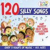 120 Silly Songs Wonder Kids - cover art