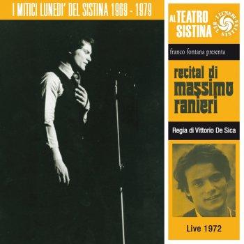 Testi Recital di Massimo Ranieri - I lunedì del sistina (Live 1972)