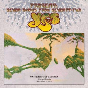 Testi Live at University of Georgia, Athens, Georgia, November 14, 1972