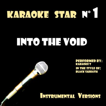 Testi Into The Void (in the style of Black Sabbath) [Karaoke Versions]