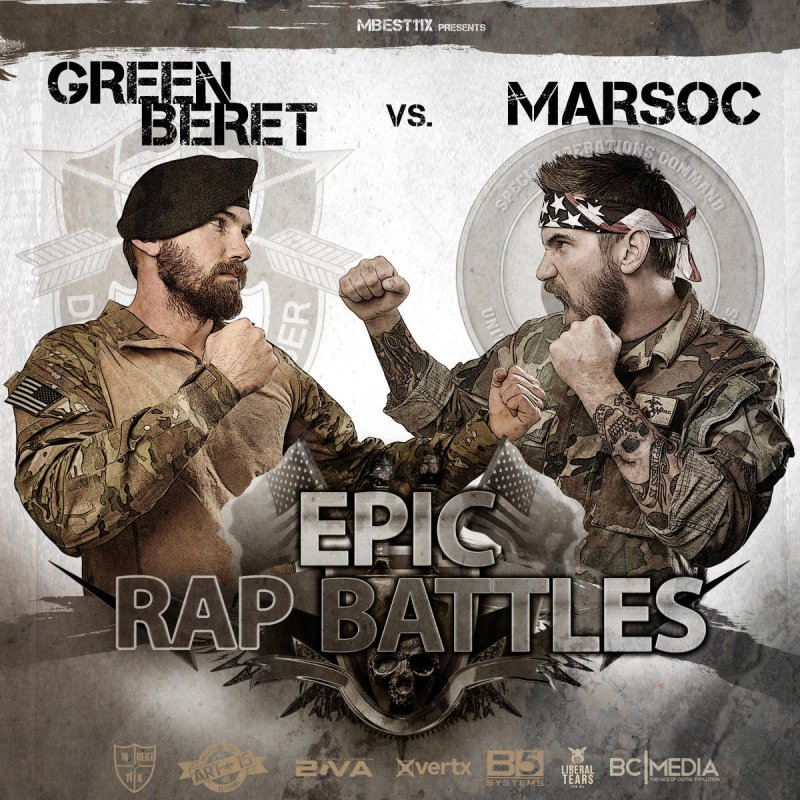 Mbest11x Epic Rap Battle Green Beret Vs Marsoc Lyrics