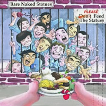 Bare naked statues