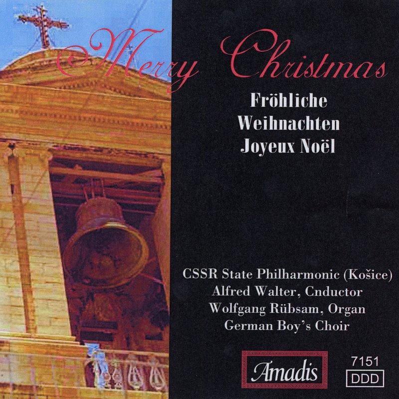 Adeste Fideles Joyeux Noel.Alfred Walter Cssr State Philharmonic Orchestra Kosice