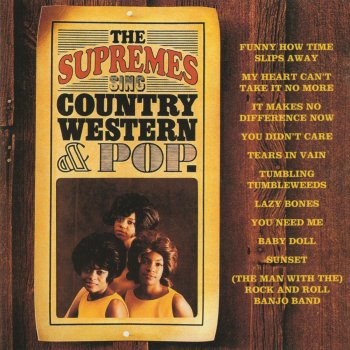 Testi The Supremes Sing Country Western & Pop