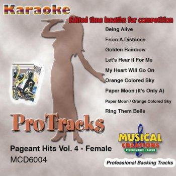 Testi ProTracks Karaoke: Edited Length Pageant Hits, Vol. 4 - Female