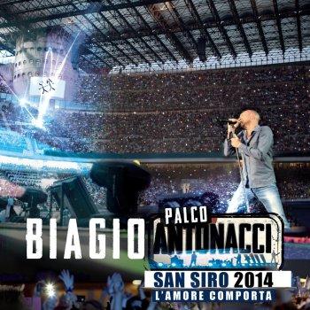 Testi Palco Antonacci San Siro 2014 Live - L'amore comporta