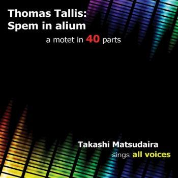 第6グループ40声のモテット「スペム・イン・アリウム」 (5声部
