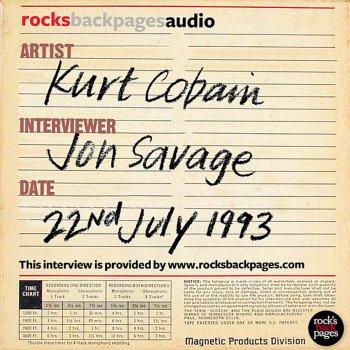 Testi Kurt Cobain Interviewed By Jon Savage