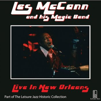 Testi Les McCann and His Magic Band: Live in New Orleans