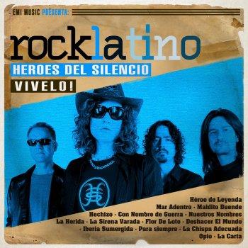 Testi Rock Latino - Vívelo: Héroes del Silencio (Remastered)