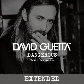 Dangerous (Extended) by David Guetta feat. Sam Martin - cover art