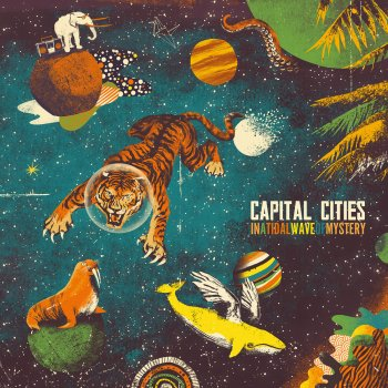 Staying Alive by Capital Cities - cover art