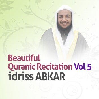coran recitation idriss abkar